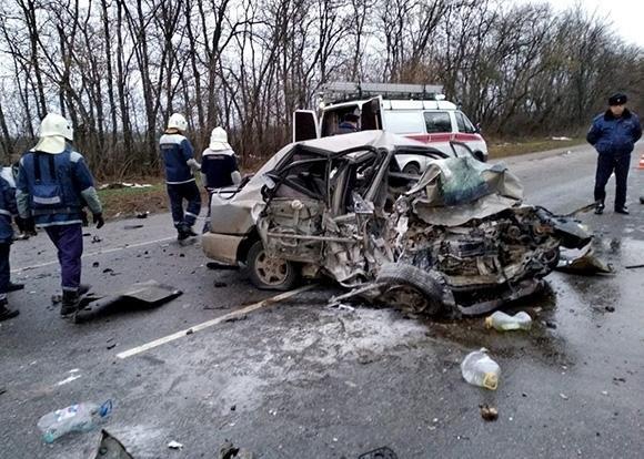 Четыре человека погибли в ДТП в Тихорецком районе (1)