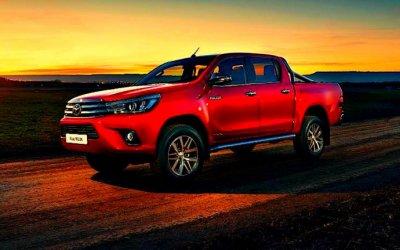 Пикап Toyota Hilux признан самым популярным вРоссии