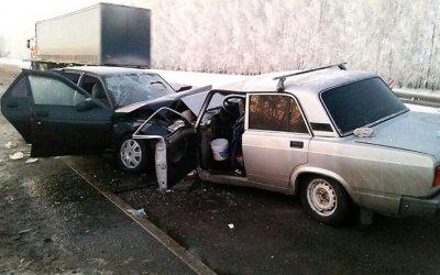 Четыре человека пострадали в ДТП в Александро-Невском районе