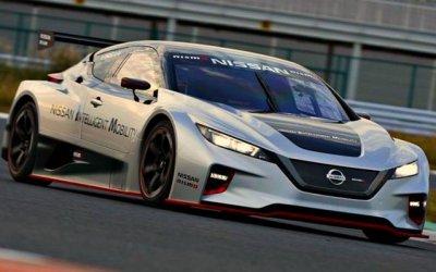 Представлена гоночная модификация электромобиля Nissan Leaf
