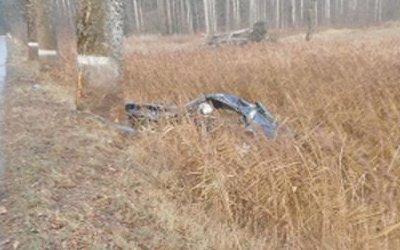 В Неманском районе в ДТП погиб водитель иномарки