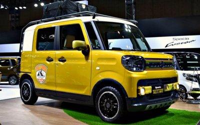 Компания Suzuki начала выпуск «внедорожного» микровэна Spacia