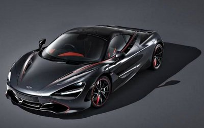Создан эксклюзивный гиперкар McLaren 720S Stealth Theme