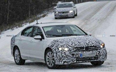 Начались испытания новых версий Volkswagen Passat