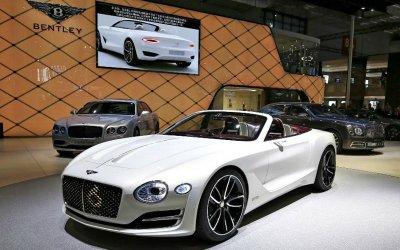 Bentley начнёт делать электромобили