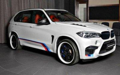 BMW X5 изАбу-Даби: безвкусное «лакшери»