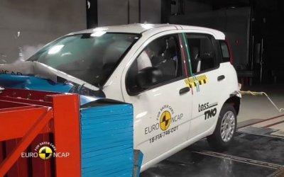 Краш-тесты Euro NCAP: провалились FIAT Panda иJeep Wrangler