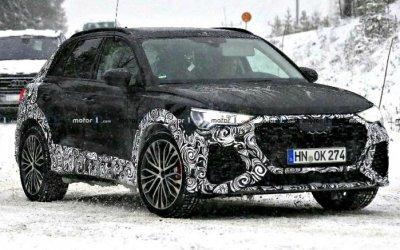 Начались тесты нового AudiRS Q3