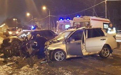 Четыре человека пострадали в ДТП во Владимирской области