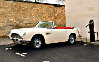 Aston Martin электрифицирует свои классические модели