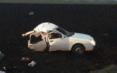 Женщина и двое детей погибли в ДТП на Кубани