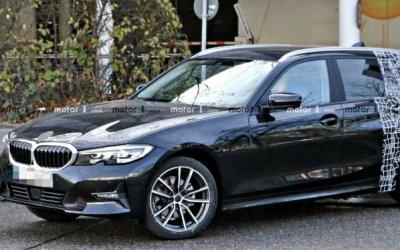 Новый универсал BMW 3-Series появился надорогах