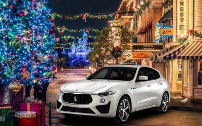 Новогоднее настроение в Maserati Авилон