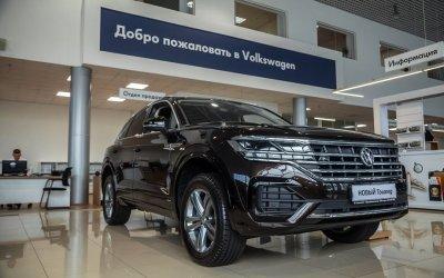 Воплощайте будущее вместе с НОВЫМ Volkswagen Touareg