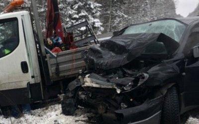 Пассажирка иномарки погибла в ДТП в Ленобласти