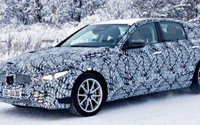В Финляндии замечен новый Mercedes-Benz C-Classe