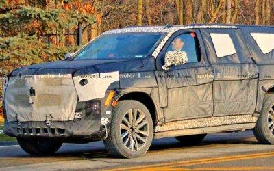 Cadillac испытывает новый Escalade