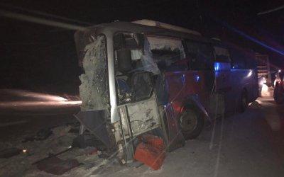 Два человека погибли в ДТП с автобусом в Красноярском крае