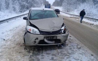 Водитель пострадал в ДТП в Стародубском районе