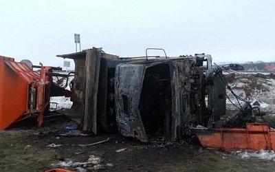 В ДТП с КамАЗом в Башкирии погибла пассажирка «Лады»