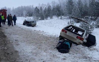Пять человек пострадали в ДТП в Башкирии