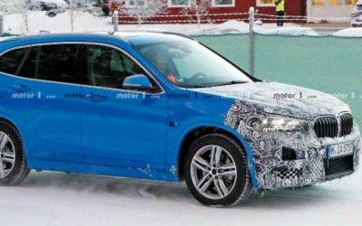 Вобъективы попал обновлённый кроссовер BMW X1