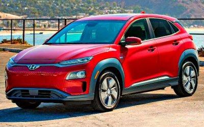 Стали известны цены наэлектрокроссовер Hyundai Kona Electric
