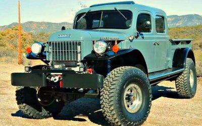 Dodge Power Wagon: вторая жизнь автоветерана
