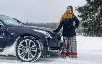 Зимнее сервис меню от Cadillac Chevrolet  Белая дача
