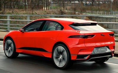 ВРоссии стартовали продажи электрокроссовера Jaguar I-Pace