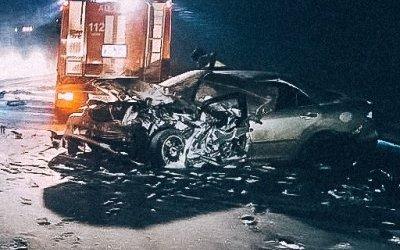 Молодой водитель погиб в ДТП на трассе «Кола»