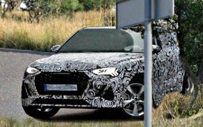Начаты испытания нового кроссовера Audi Q4