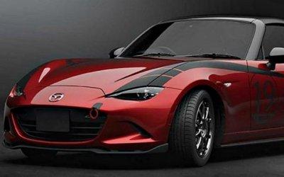 Mazda покажет вТокио новый родстер MX-5