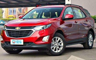 Начаты продажи обновлённого кроссовера Chevrolet Equinox