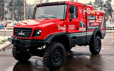 «МАЗ» представил новый раллийный грузовик