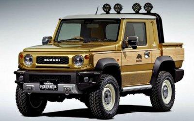 Появились новые модификации внедорожника Suzuki Jimny