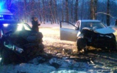 Три человека пострадали в ДТП на Гагарина в Ярославле