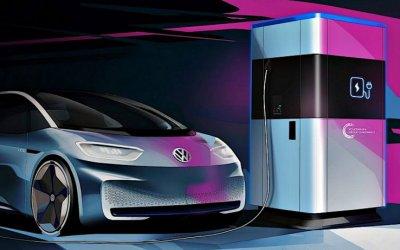 Volkswagen представил проект мобильной зарядной станции
