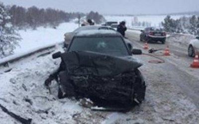 Четыре человека пострадали в ДТП под Самарой