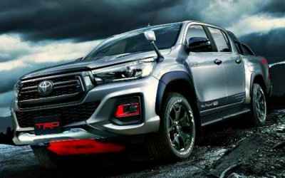 ВTRD подготовили новую версию Toyota Hilux