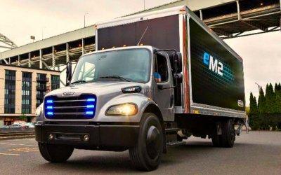 ВСША начата эксплуатация электрогрузовиков Freightliner