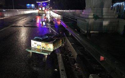 В Сочи водитель иномарки насмерть сбил пешехода и скрылся