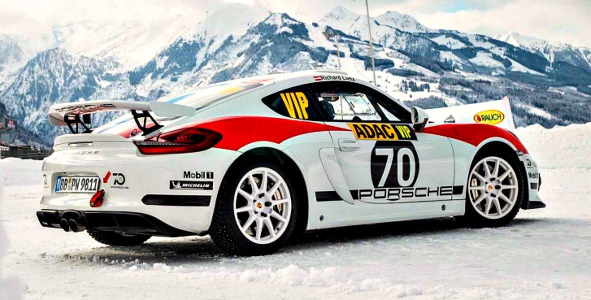 Порше 718 Cayman GT4 Clubsport будет основой для нового раллийного авто