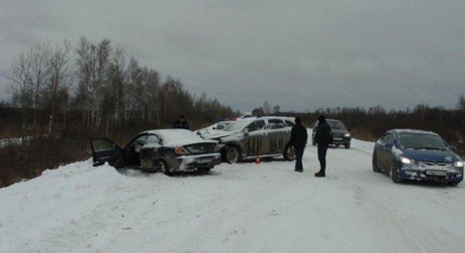 Два человека погибли в ДТП в Брянской области