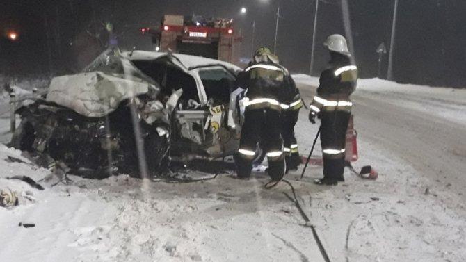 В ДТП под Ярославлем погиб человек