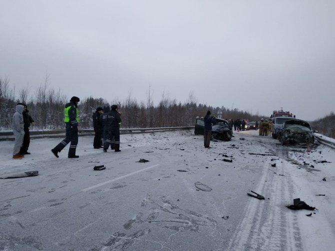 Три человека погибли в ДТП под Ивделем (1)