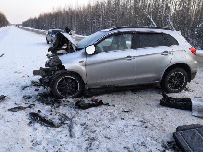 Женщина погибла в ДТП на трассе Тюмень – Ханты-Мансийск (3)