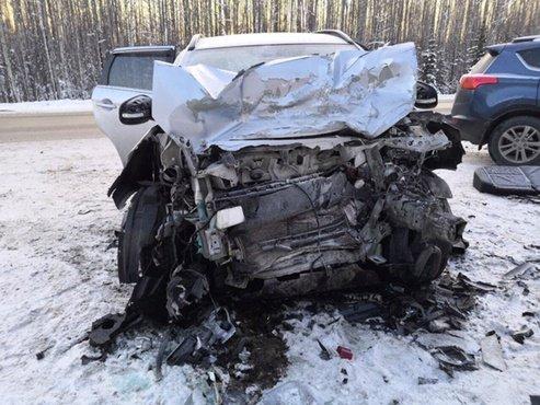Женщина погибла в ДТП на трассе Тюмень – Ханты-Мансийск (1)