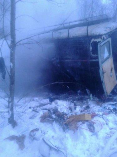 В ДТП на трассе «Кола» погиб водитель УАЗа (2)