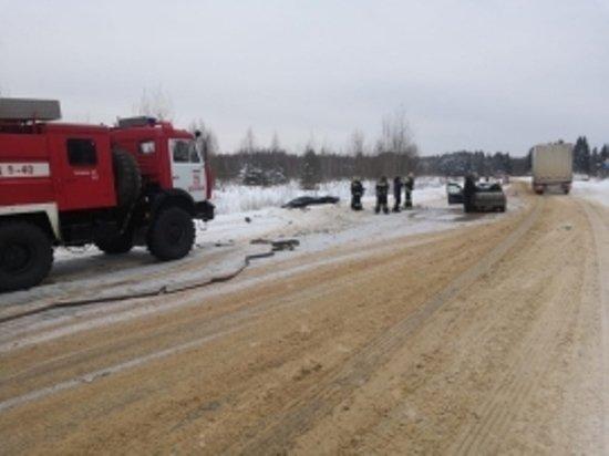 Женщина и ребенок пострадали в ДТП на трассе «Тверь–Бежецк»